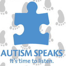 Image Logo: Autism Speaks: It's time to listen.