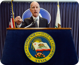 Governor Brown makes temporary 8% cuts in IHSS hours