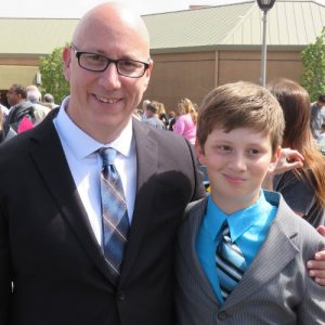 IHSS Advocate/CEO Larry Rosen and his son Benny